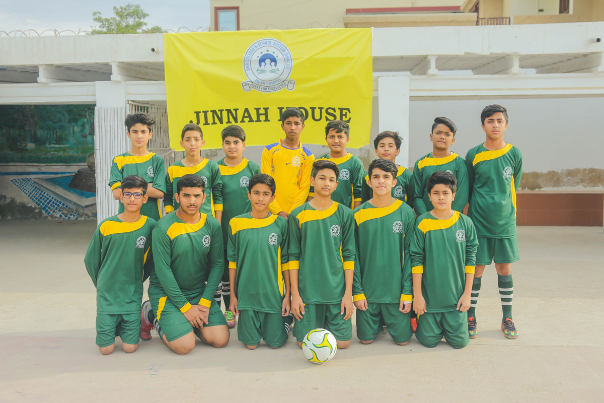 DHACSS Phase VII Campus - The Energetic Futsal Team