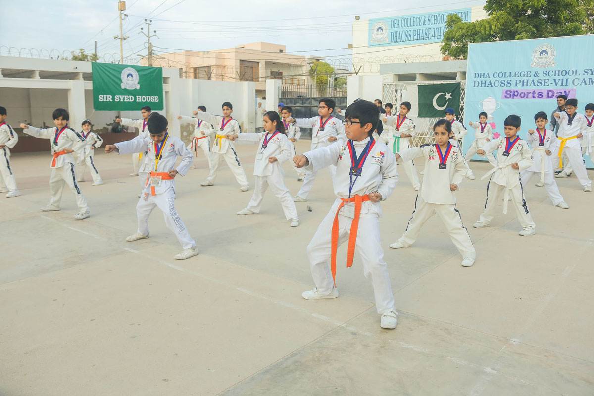 DHACSS Phase VII Campus - Tae Kwon Do