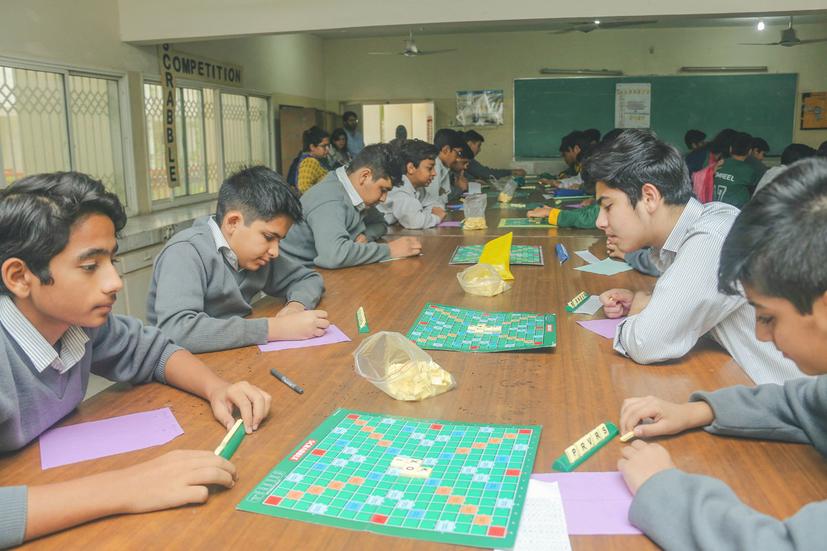 DHACSS Phase VII Campus - Scrabble