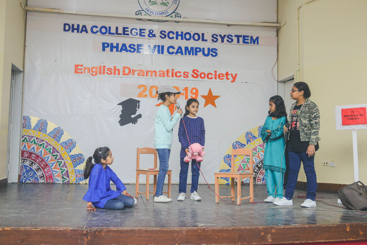 DHACSS Phase VII Campus - English Dramatics Society