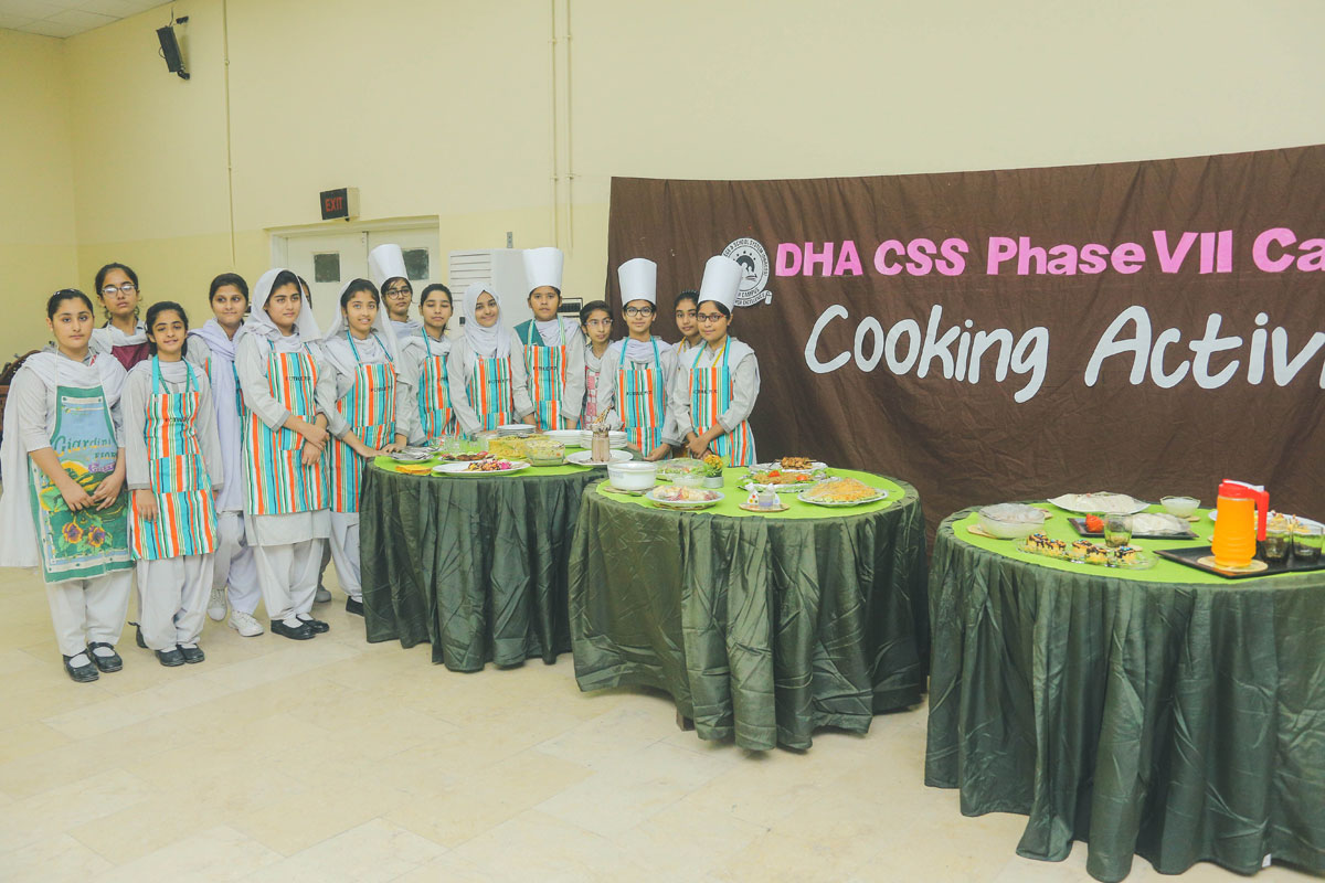 DHACSS Phase VII Campus - Cooking Class