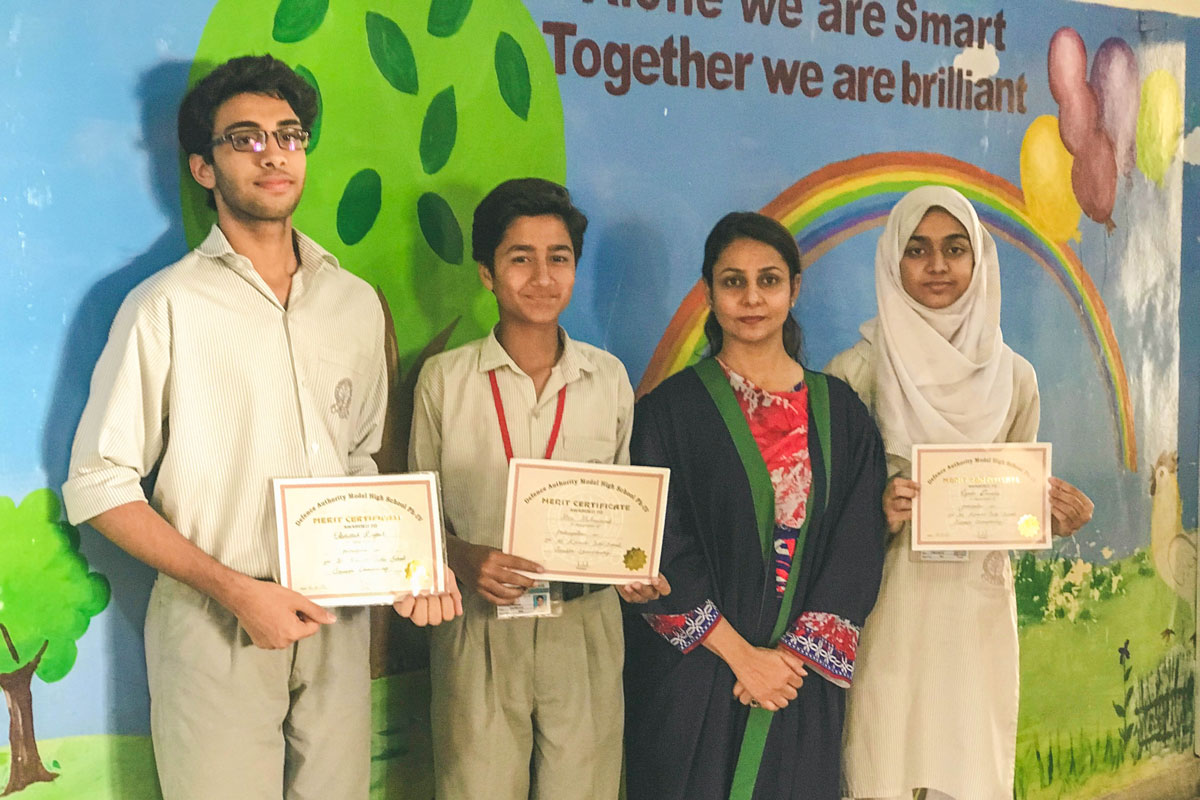 6th Position out of 26 Schools in All Karachi Scrabble Championship Held at DHACSS Ph IV Campus