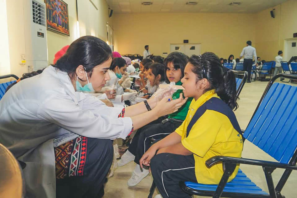 DHACSS Phase VII Campus - Dental Checkup
