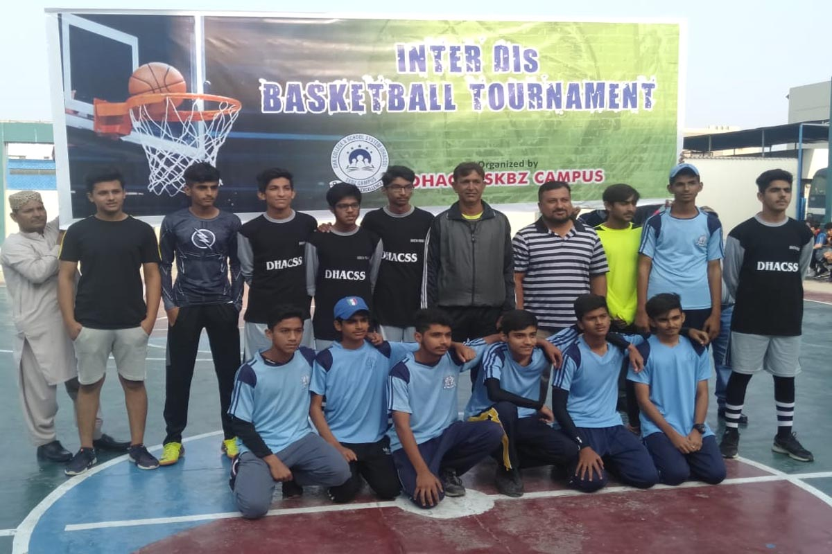 DHACSS Phase VII Campus grabbed 3rd position in Inter DIs Basketball Tournament Nov 2019